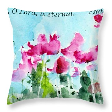 Your Word O Lord Throw Pillow