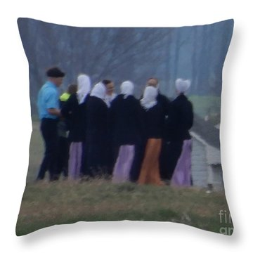Youth Group Throw Pillow