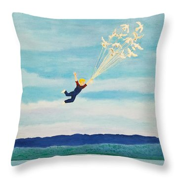 Youth Is Fleeting Throw Pillow