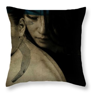 You've Got To Hide Your Love Away Throw Pillow