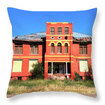 Yoyah School House Throw Pillow