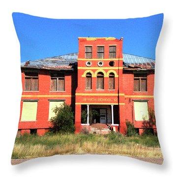 Yoyah School House Throw Pillow