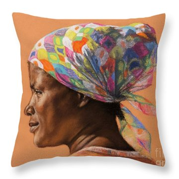 Yphemie Throw Pillow