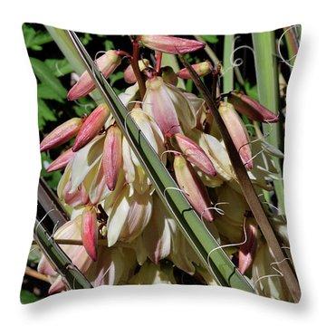 Yucca Bloom I Throw Pillow
