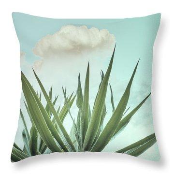 Yucca Vintage Throw Pillow