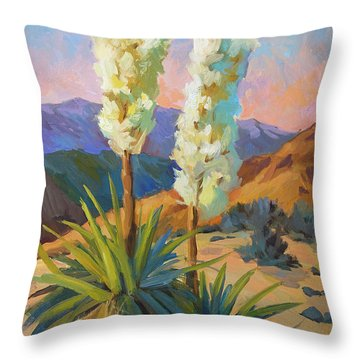 Yuccas Throw Pillow