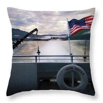 Yukon Queen Throw Pillow