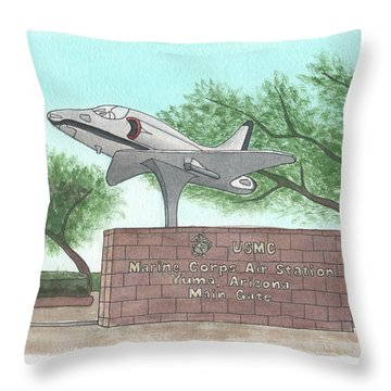 Yuma Welcome Throw Pillow