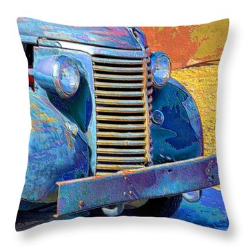Yurric Machine Works Throw Pillow