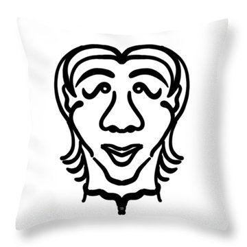 Yuto Throw Pillow