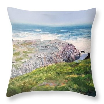 Yzerfontein Oggend Throw Pillow