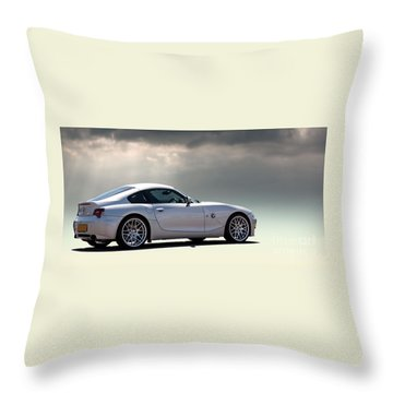 Z4m Coupe Throw Pillow
