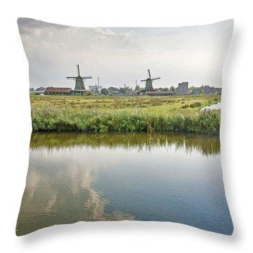 Zaandam Skyline Throw Pillow