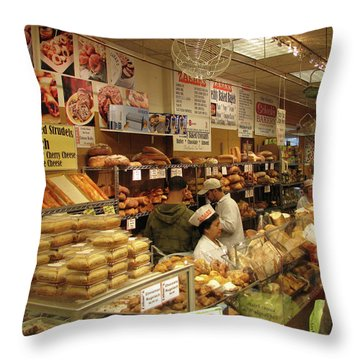 Zabars - 2006 - New York Throw Pillow