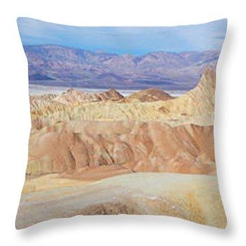 Zabriski Point Panoramic Throw Pillow