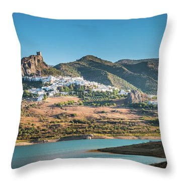 Zahara De La Sierra Throw Pillow