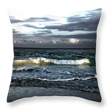 Zamas Beach #11 Throw Pillow