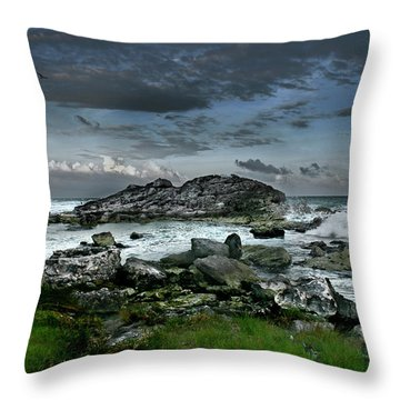Zamas Beach #14 Throw Pillow