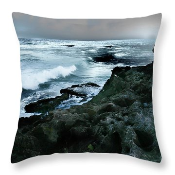 Zamas Beach #5 Throw Pillow