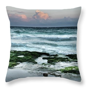 Zamas Beach #7 Throw Pillow