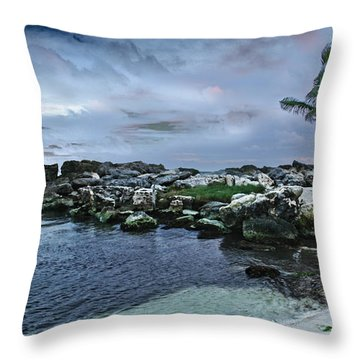 Zamas Beach #8 Throw Pillow
