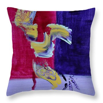 Zanardi Throw Pillow