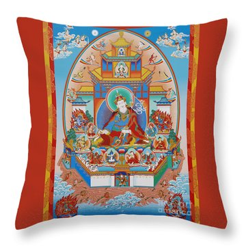 Zangdok Palri Throw Pillow