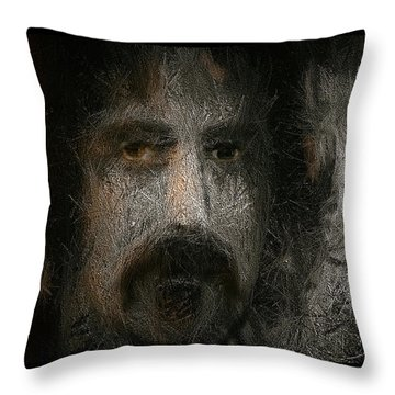 Zappa-the Deathless Horsie Throw Pillow