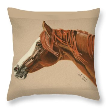 Zarro Throw Pillow by Melita Safran