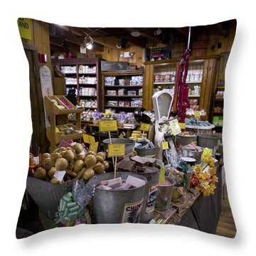 Zebs, North Conway Throw Pillow
