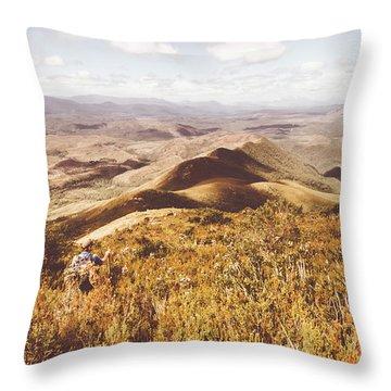 Zeehan Tasmania Throw Pillow