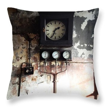 Machine Throw Pillows