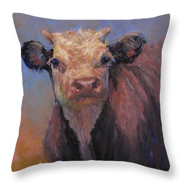 Zeke Throw Pillow by Susan Williamson