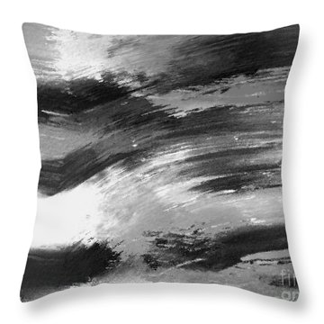 Zen Abstract A715d Throw Pillow
