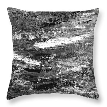 Zen Abstract A723b Throw Pillow