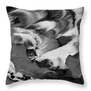Zen Abstract Series N1015al Throw Pillow