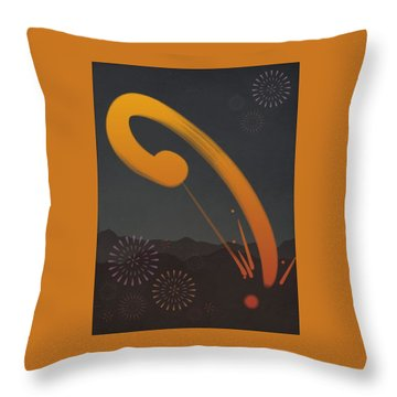 Zen Celebration Throw Pillow