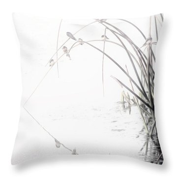 Zen Streamside Throw Pillow