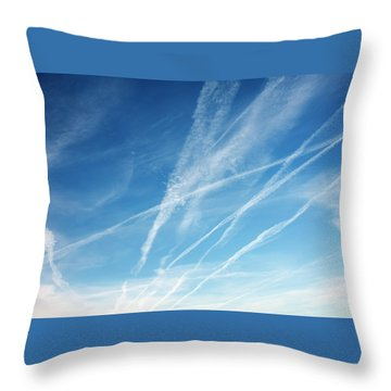 Zephyrus Throw Pillow