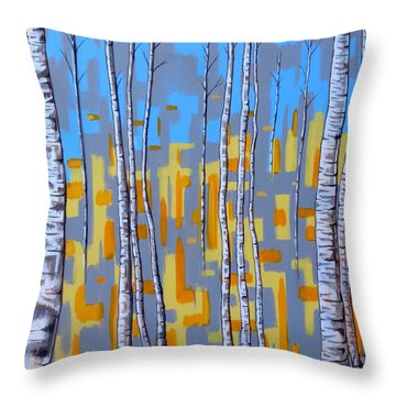 Zhivago Throw Pillow by Tara Hutton