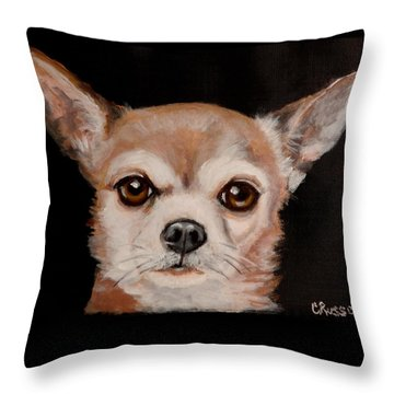 Ziggy 2 Throw Pillow