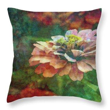 Zinnia Impression 1120 Idp_2 Throw Pillow