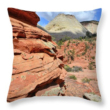 Zion High Country Throw Pillow