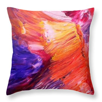 Zion Throw Pillow by Scott French