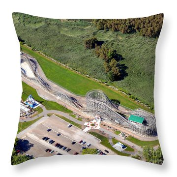 Zippin Pippin Throw Pillow by Bill Lang