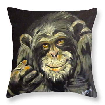 Zippy Throw Pillow