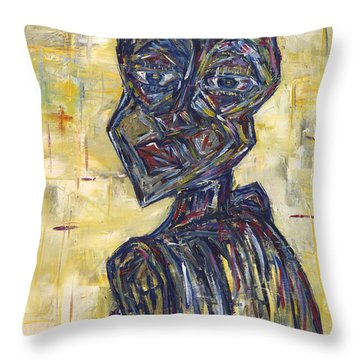 Ziva Kwaunobva Remember Where You Are From Throw Pillow by Chakanaka Zinyemba