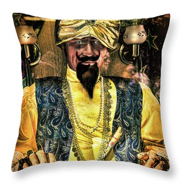 Throw Pillow featuring the photograph Zoltar by Chris Lord