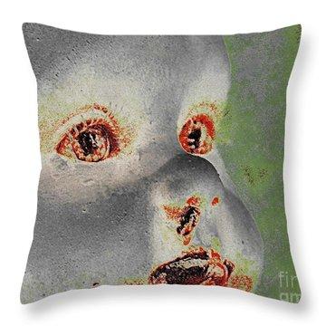 Zombie Baby Four Throw Pillow