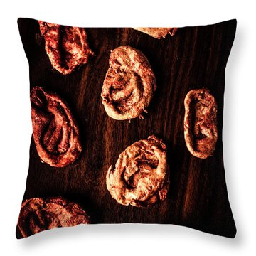 Zombie Lost And Found Bin Throw Pillow